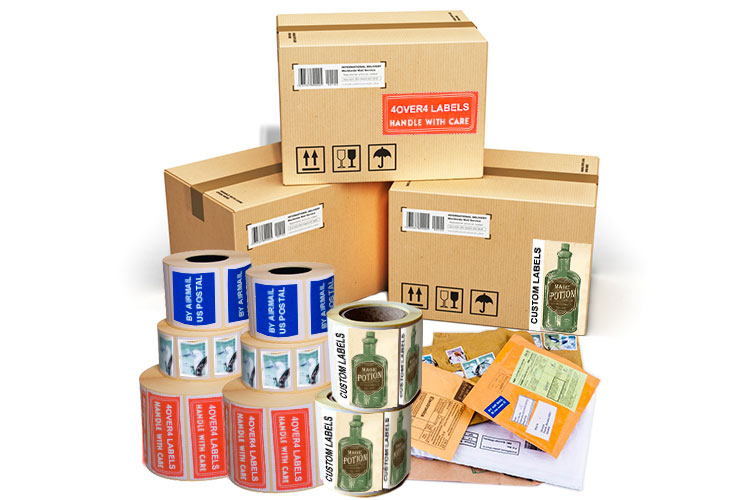 Roll Shipping And Mailing Labels