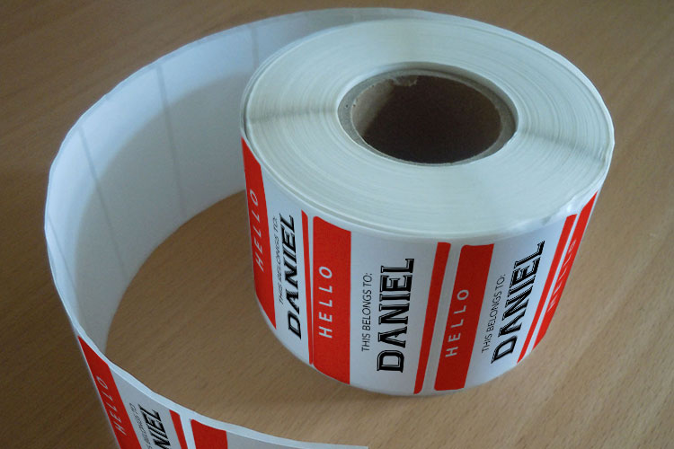 Roll Name Labels