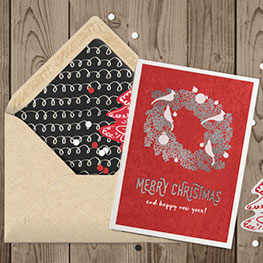 Velvet Greeting Cards