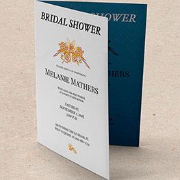Velvet Bridal Shower Invites