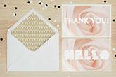 velvet thank you cards