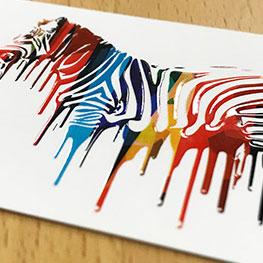 Raised Spot UV Business Cards