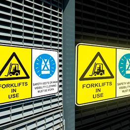 Reflective Aluminum Sign Panels