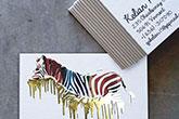 fat foil business cards