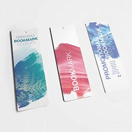 20pt Plastic Bookmarks