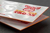 ultra thick velvet laminated business cards