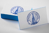 ultra thick linen business cards