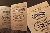 kraft invitations