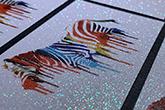 diamond glitter business cards
