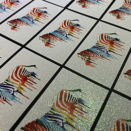 Glitter Business Cards