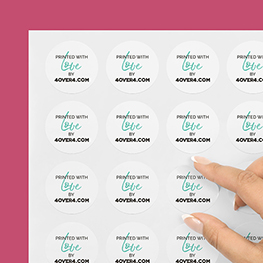 Any Shape Kiss-Cut Labels