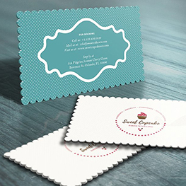 Any Shape Business Cards