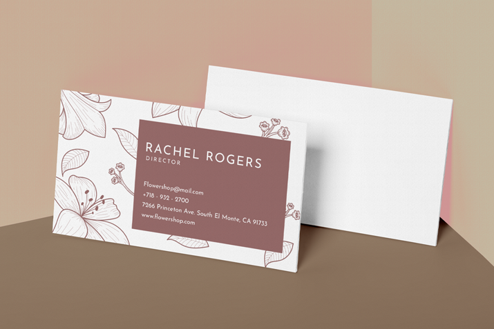 business cards (1 sided)