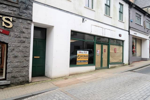 C. 2,000 Sq.ft Unit To Let Castle Street, Castlebar, Co. Mayo