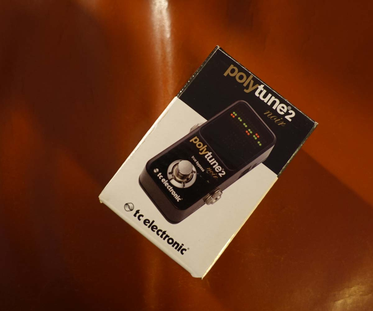 tc electronic polytune 2 mini noir polyphones stimmger t. Black Bedroom Furniture Sets. Home Design Ideas