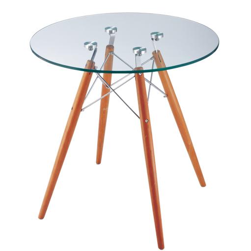 mesa auxiliar CTW transparente