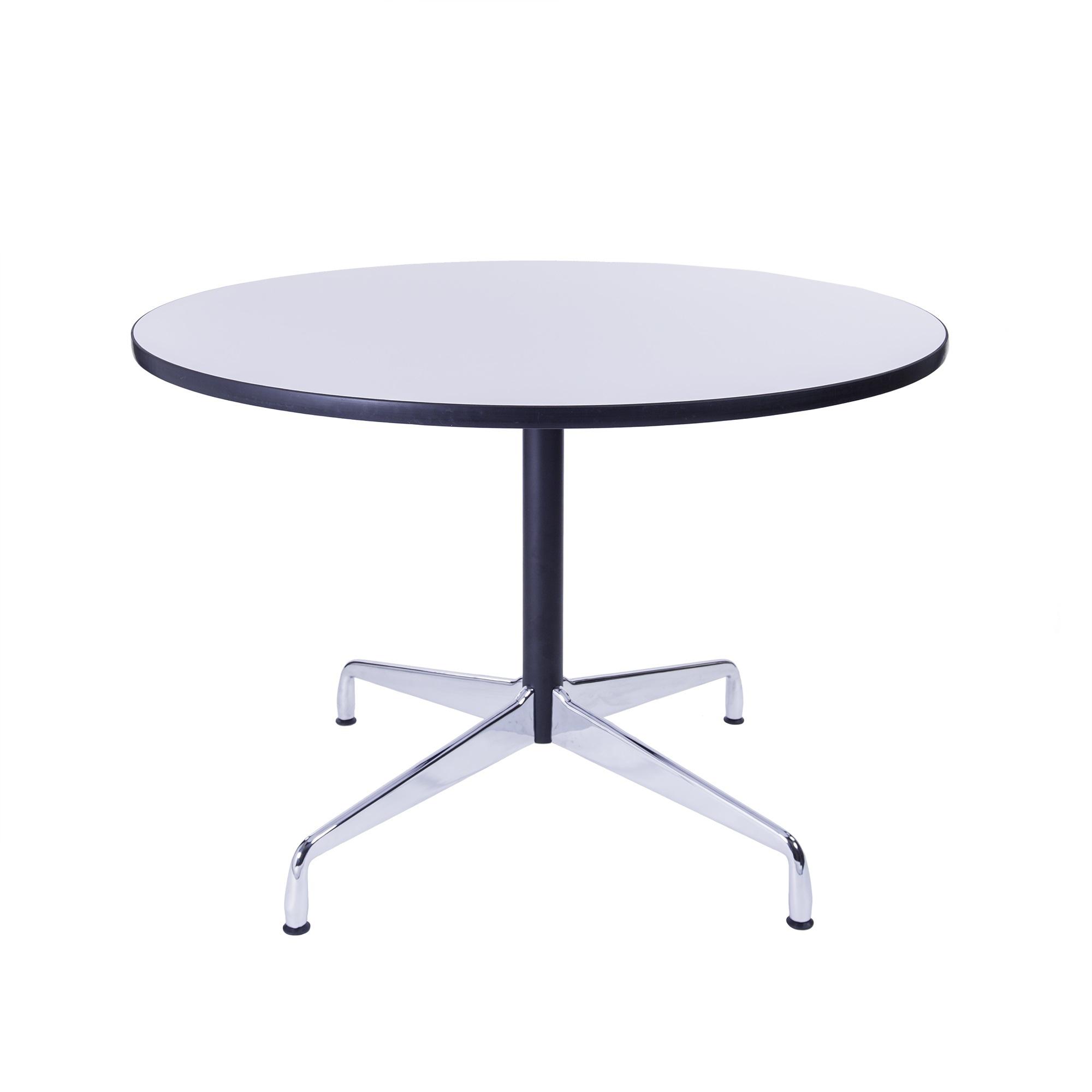 mesa de comedor mesa de contrato 110cm blanco