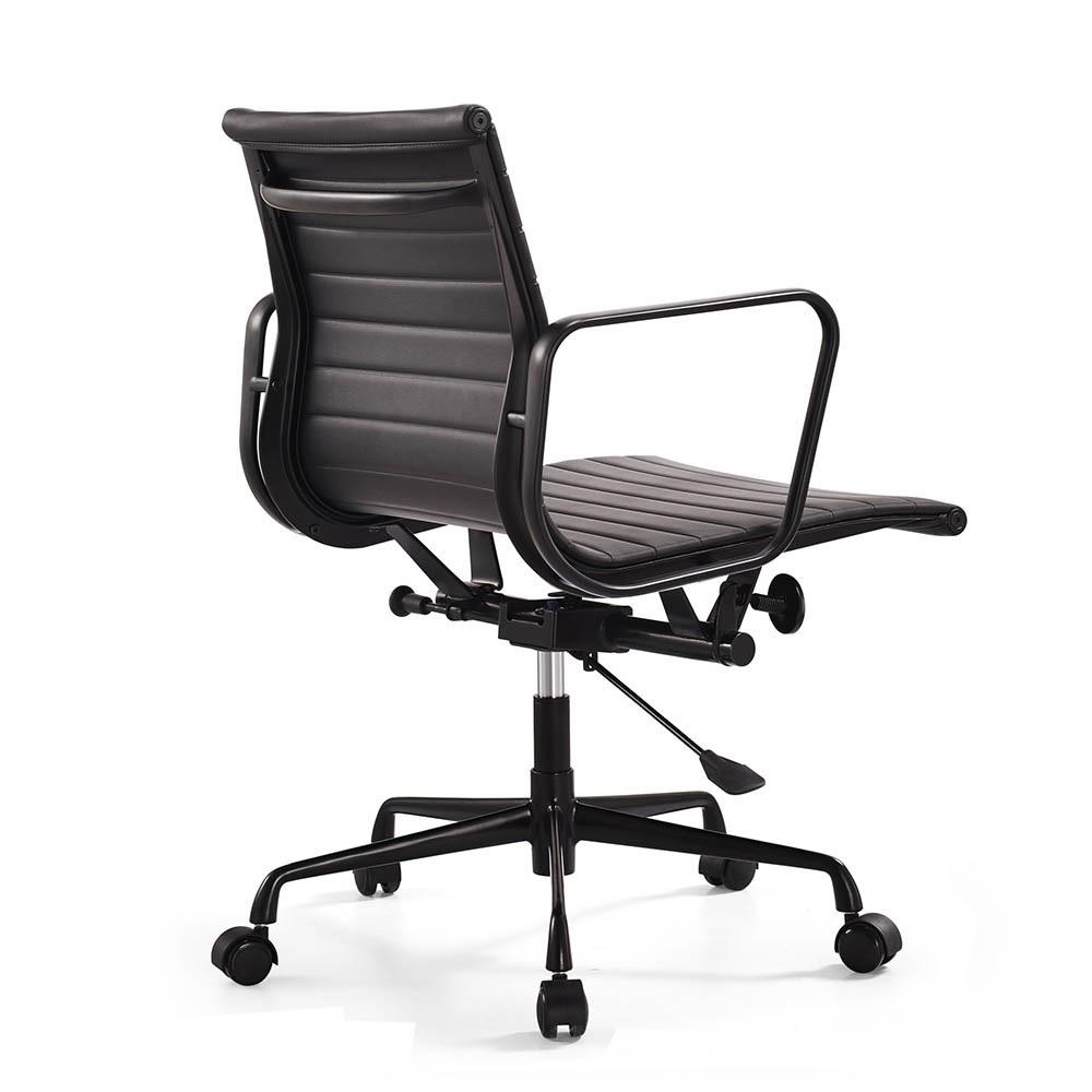 silla de oficina EA117 Marco negro Negro
