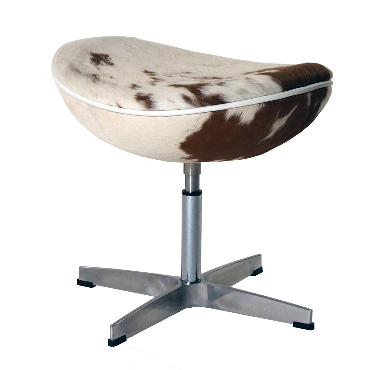 escabel Egg Chair Brown / White