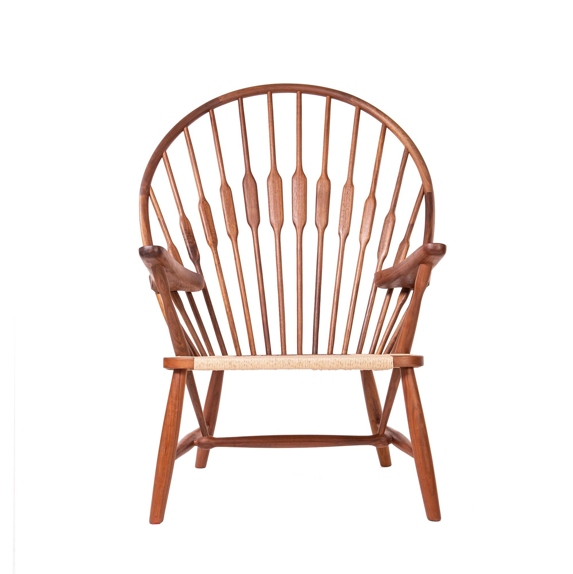 sillón Peacock nuez