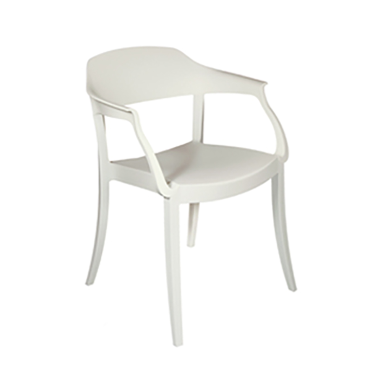 silla de comedor Strass P blanco