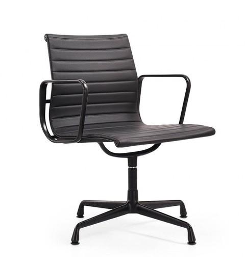 silla de conferencia EA108 Marco negro Negro
