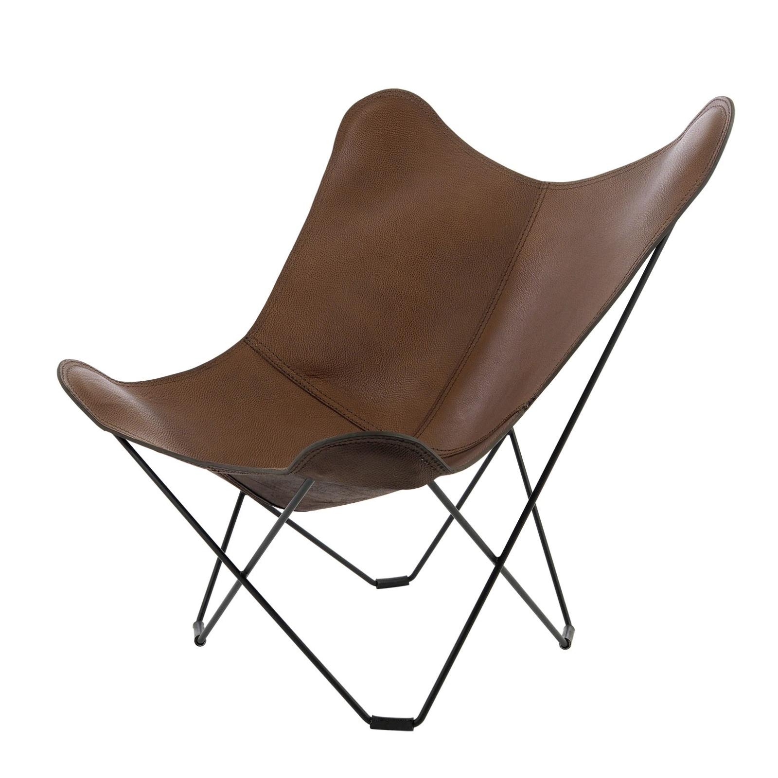 sillón La pampa Azul Marrón