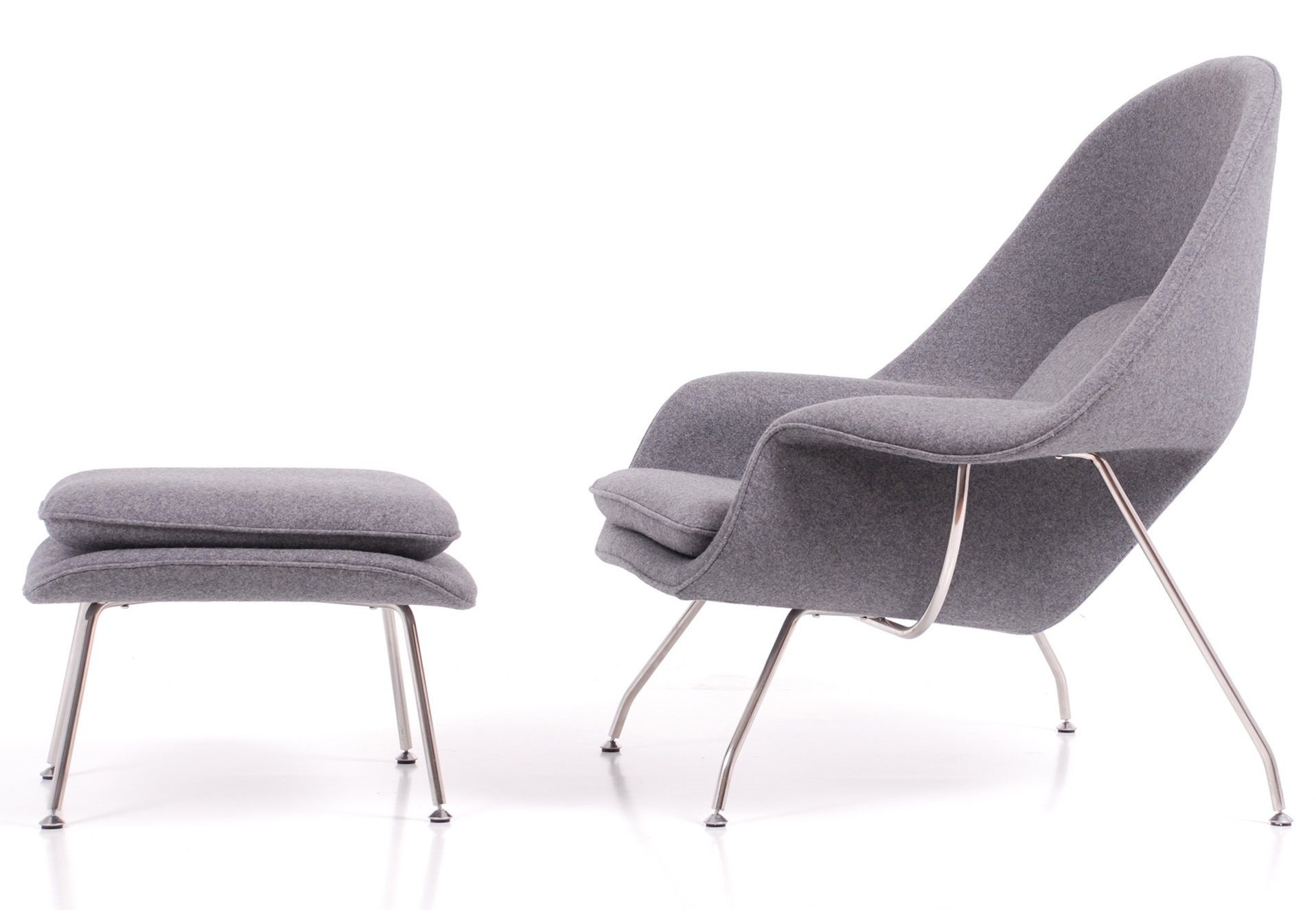 WOMB-CHAIR-GREY