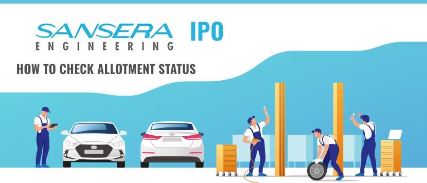 Sansera Engineering IPO Allotment