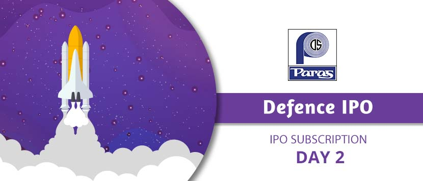 Paras Defence IPO subscription Day 2