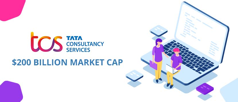 TCS $200 billion market capitalization