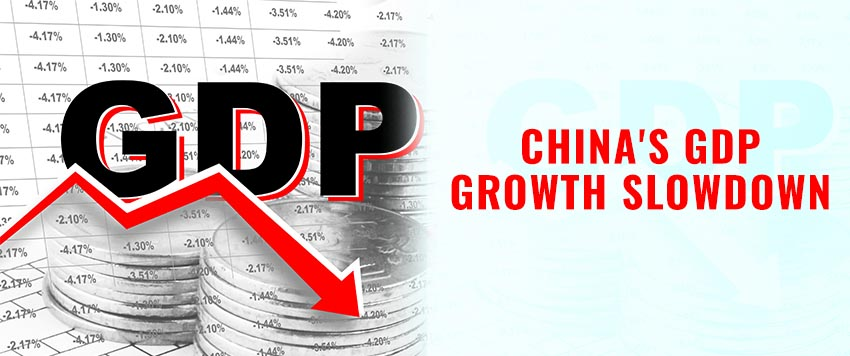 China's GDP Growth Slows and What it Means for India