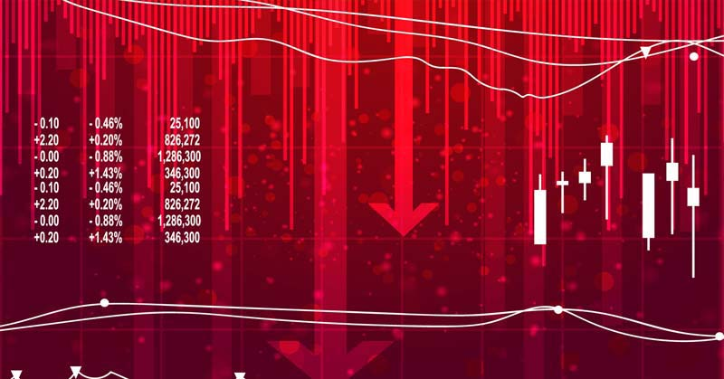 Indian markets are most likely to witness a gap-down start owing to the severe weakness seen on the global shores.