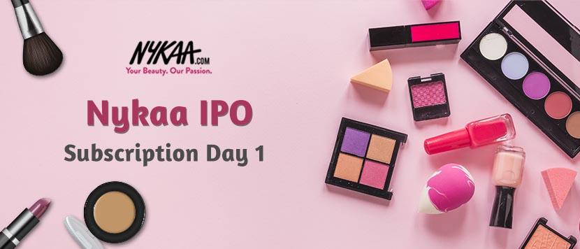 Nykaa IPO - Subscription Day 1
