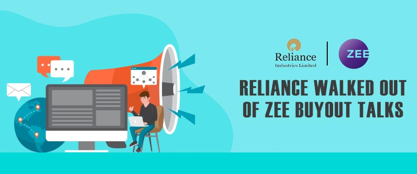 Reliance walked in and walked out of the Zee