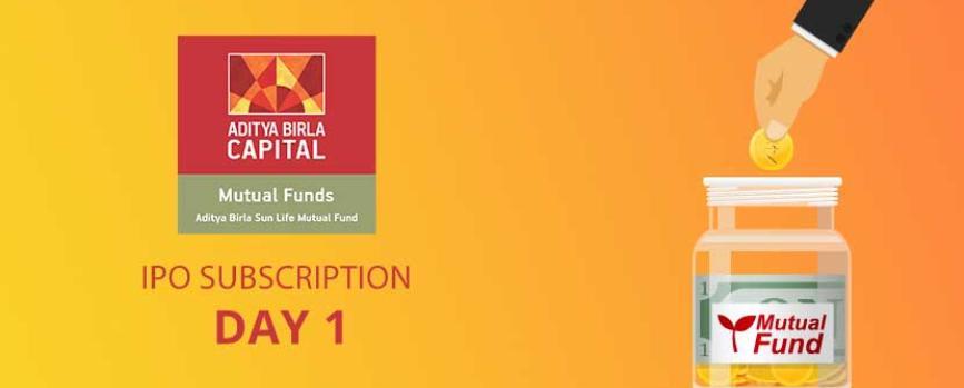 Aditya Birla Sun Life AMC IPO subscription Day 1