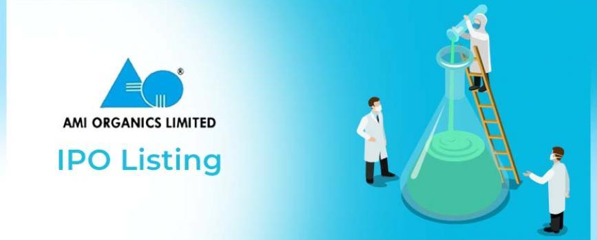 Ami Organics IPO Listing Price