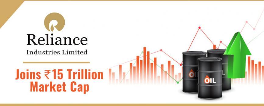 Reliance crosses Rs.15 trillion market capitalization