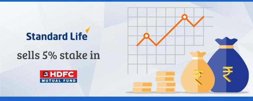 Standard Life to sell stake in HDFC AMC