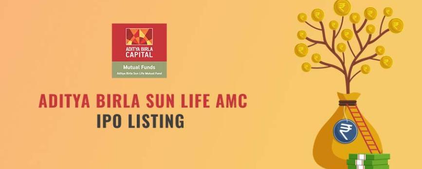 Aditya Birla Sun Life AMC IPO Listing