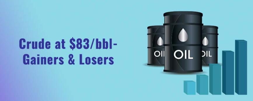 Crude Oil at $83/bbl – Who Gains and Who Loses