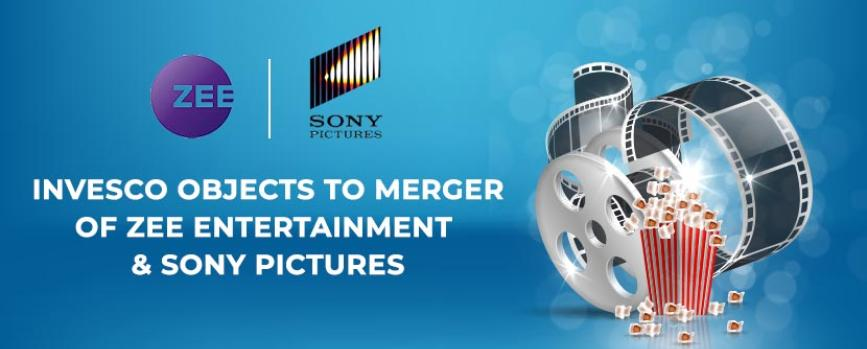 Invesco Objects to the Merger of Zee and Sony Pictures