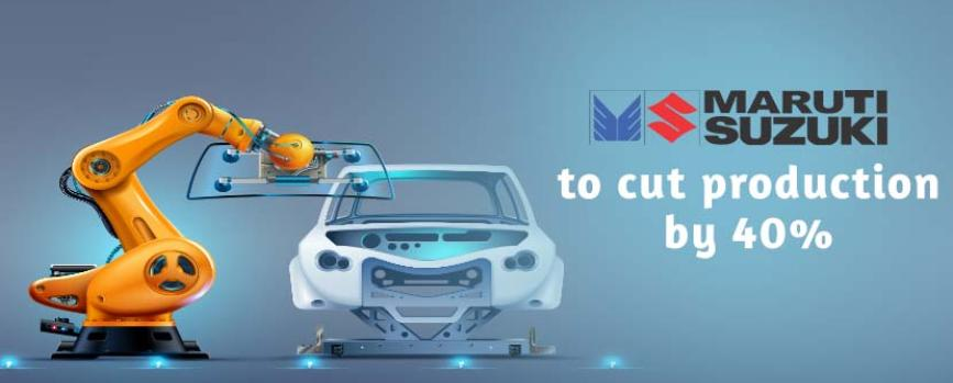 Maruti Suzuki to Cut Car Production by 40% in October 2021