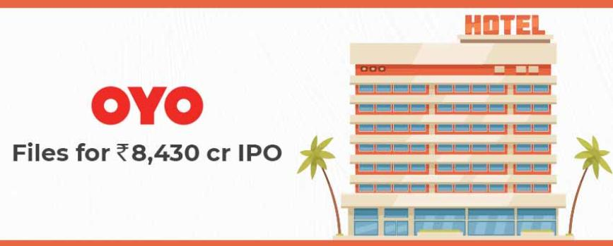 Oravel Stays (OYO) Files for Rs.8,430 Crore IPO