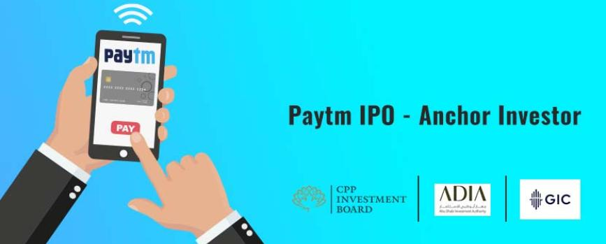 Paytm Taps Sovereign Wealth Funds as Anchor ahead of IPO
