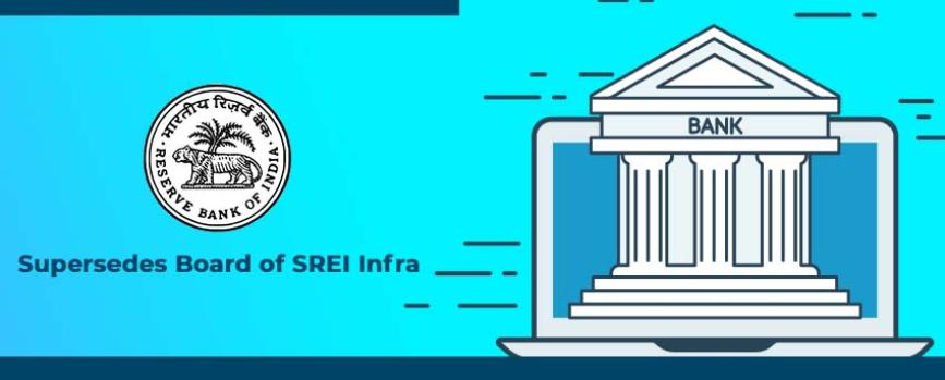 RBI Supersedes the Board of Directors of SREI Group