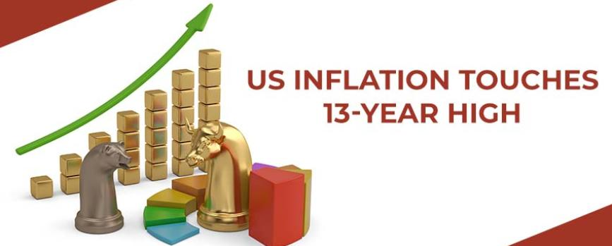 US Inflation Touches 13-year High
