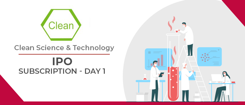 Clean Science & Technology IPO Subscription - Day 1