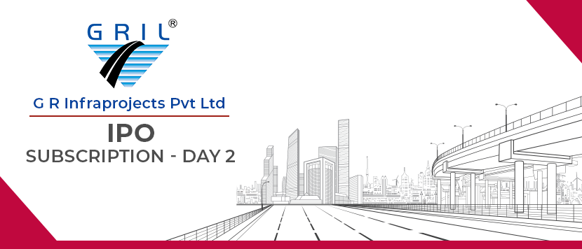 G R Infraprojects IPO subscription Day 2