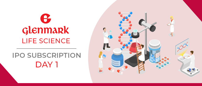 Glenmark Life Sciences IPO Day 1 Subscription